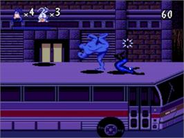 In game image of Tick, The on the Sega Genesis.