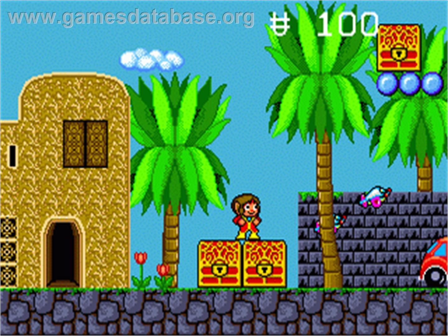 the enchanted castle Alex kidd in the enchanted castle (jp: alex kidd: tenkuu majou) is the fifth alex  kidd video game and the only one released on the sega.