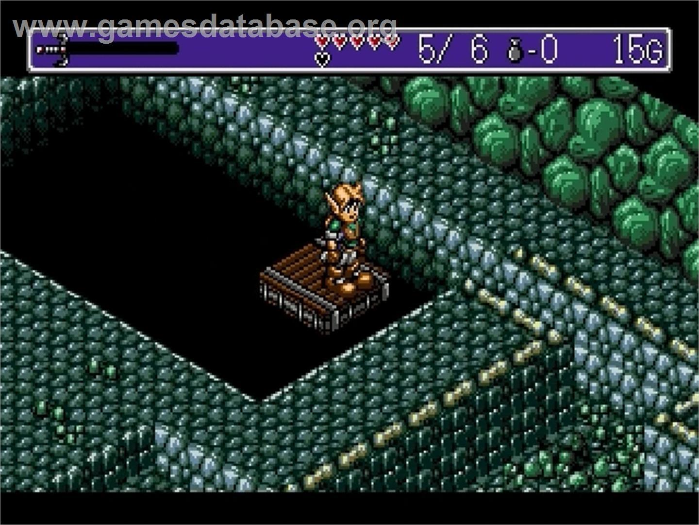 Landstalker Treasure Of King Nole Sega Genesis Games
