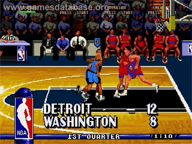 Nba Hang Time Sega Genesis Games Database