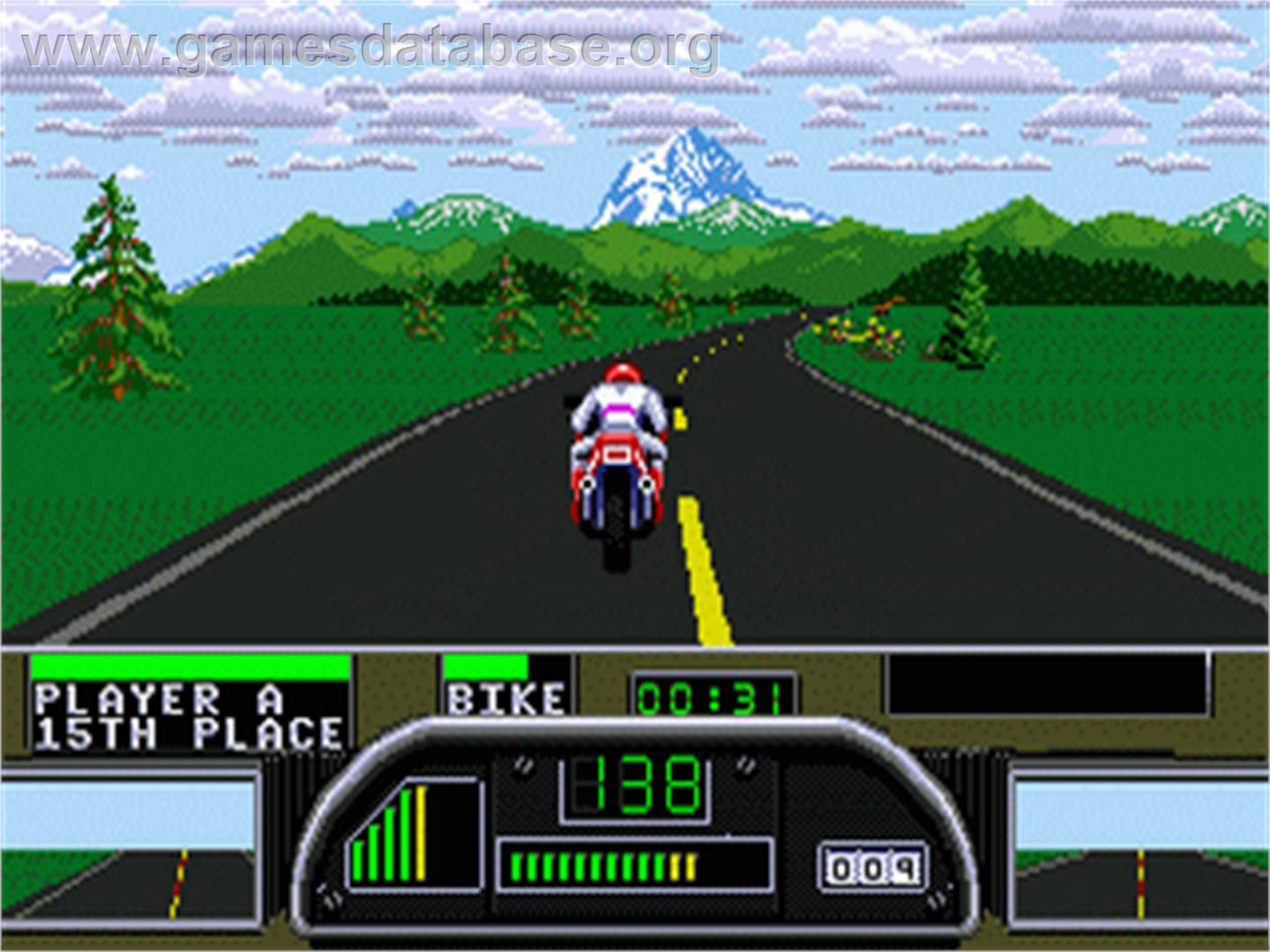 Road Rash 2 - Sega Genesis - Artwork - In Game