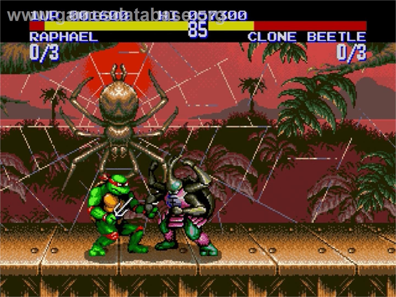 Mutant ninja turtles tournament fighters teenage mutant ninja turtles