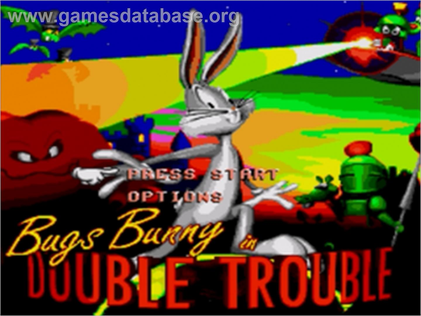 Bugs Bunny In Double Trouble Jeu Game Gear Images