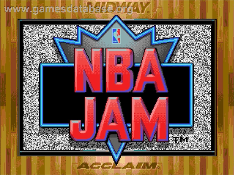 Nba Jam Sega Genesis Games Database