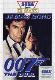 Box cover for 007: The Duel on the Sega Master System.