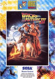 Box cover for Back to the Future 3 on the Sega Master System.