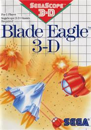 Box cover for Blade Eagle 3D on the Sega Master System.