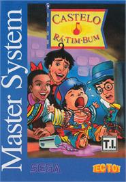 Box cover for Castelo Rá-Tim-Bum on the Sega Master System.