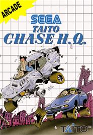 Box cover for Chase H.Q. on the Sega Master System.