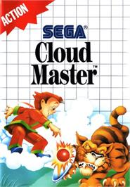Box cover for Cloud Master on the Sega Master System.