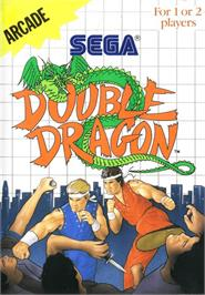 Box cover for Double Dragon on the Sega Master System.