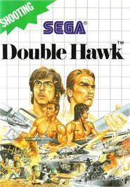 Box cover for Double Hawk on the Sega Master System.