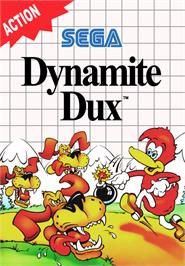 Box cover for Dynamite Dux on the Sega Master System.