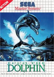 Box cover for Ecco the Dolphin on the Sega Master System.
