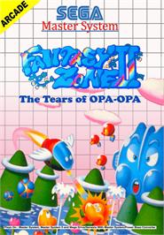 Box cover for Fantasy Zone 2 on the Sega Master System.