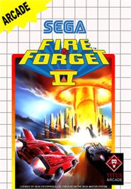 Box cover for Fire and Forget 2: The Death Convoy on the Sega Master System.