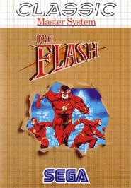 Box cover for Flash, The on the Sega Master System.
