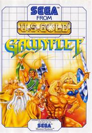 Box cover for Gauntlet on the Sega Master System.