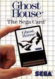 Box cover for Ghost House on the Sega Master System.