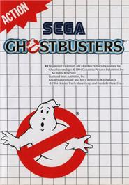 Box cover for Ghostbusters on the Sega Master System.