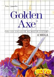 Box cover for Golden Axe on the Sega Master System.