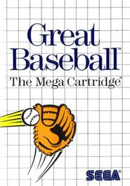 Box cover for Great Baseball on the Sega Master System.