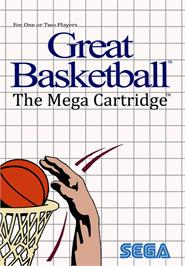 Box cover for Great Basketball on the Sega Master System.