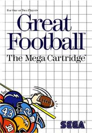 Box cover for Great Football on the Sega Master System.