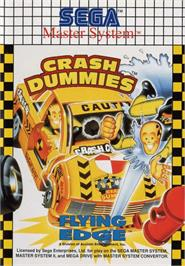 Box cover for Incredible Crash Dummies on the Sega Master System.