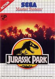 Box cover for Jurassic Park on the Sega Master System.