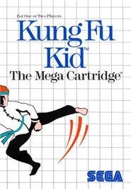 Box cover for Kung Fu Kid on the Sega Master System.