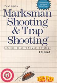 Box cover for Marksman Shooting & Trap Shooting on the Sega Master System.