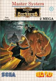 Box cover for Master of Darkness on the Sega Master System.