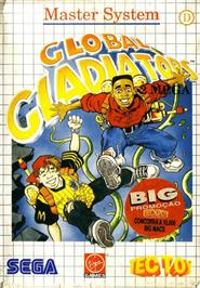 Box cover for Mick & Mack as the Global Gladiators on the Sega Master System.