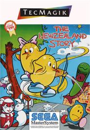 Box cover for New Zealand Story on the Sega Master System.
