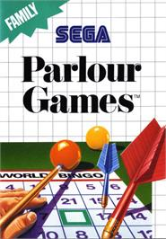 Box cover for Parlour Games on the Sega Master System.