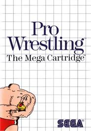 Box cover for Pro Wrestling on the Sega Master System.