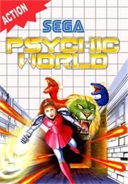 Box cover for Psychic World on the Sega Master System.