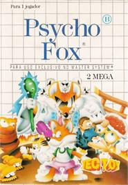 Box cover for Psycho Fox on the Sega Master System.
