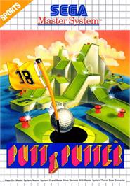 Box cover for Putt & Putter on the Sega Master System.