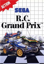 Box cover for R.C. Grand Prix on the Sega Master System.