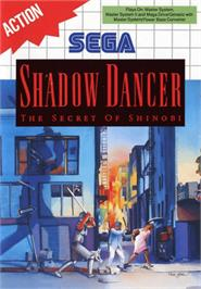 Box cover for Shadow Dancer on the Sega Master System.