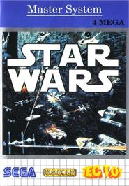 Box cover for Star Wars on the Sega Master System.