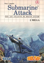 Box cover for Submarine Attack on the Sega Master System.