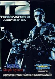 Box cover for Terminator 2 - Judgment Day on the Sega Master System.