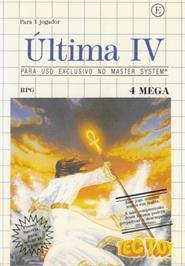 Box cover for Ultima IV: Quest of the Avatar on the Sega Master System.