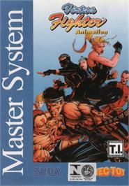 Box cover for Virtua Fighter Animation on the Sega Master System.