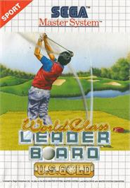 Box cover for World Class Leaderboard on the Sega Master System.