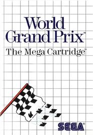 Box cover for World Grand Prix on the Sega Master System.