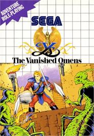 Box cover for Ys - The Vanished Omens on the Sega Master System.